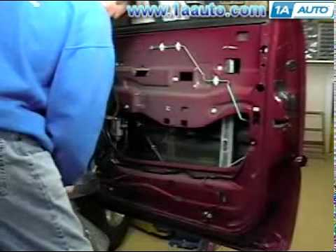 How To Install Replace Power Window Regulator Chevy Silverado GMC Sierra 99-06 1AAuto.com