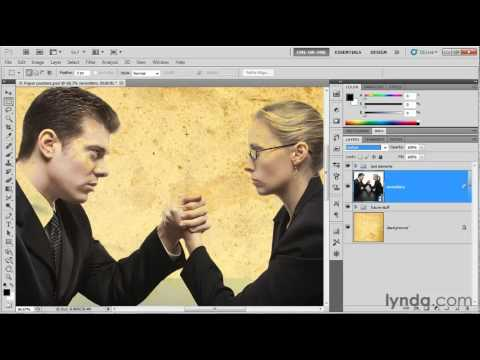 How to use the Photoshop blend modes | lynda.com tutorial