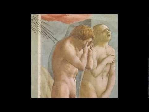 Masaccio, Expulsion of Adam and Eve from Eden, Brancacci Chapel, c. 1424-1427