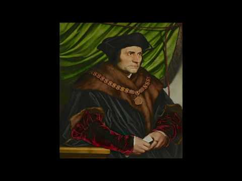 "Hans Holbein, the Younger, ""Sir Thomas More"""
