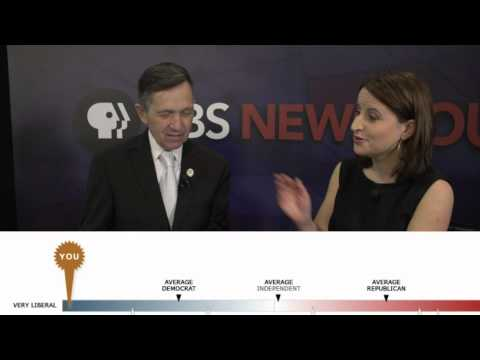 Dennis Kucinich Takes the Test: How Liberal Is He? (Hint: Very.)
