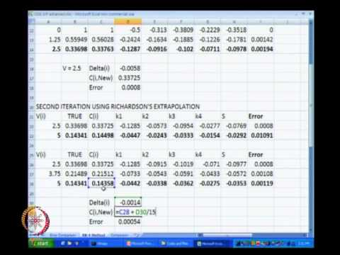 Mod-07 Lec-32 Ordinary Differential Equations (initial value problems) Part 8