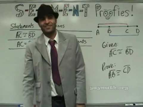 Geometry - Segment Proofs