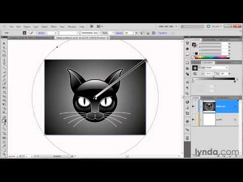 Illustrator tutorial: How to create a radial gradient | lynda.com