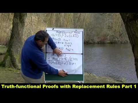 Truth-functional Proofs with Replacement Rules Part 1_HD.mp4 - YouTube.mp4