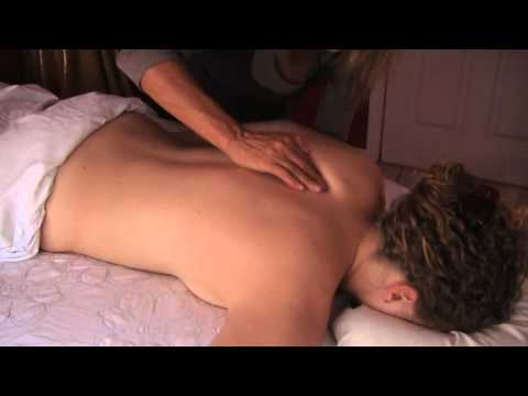 Back Massage Therapy How to Techniques, Lymphatic Body Massage