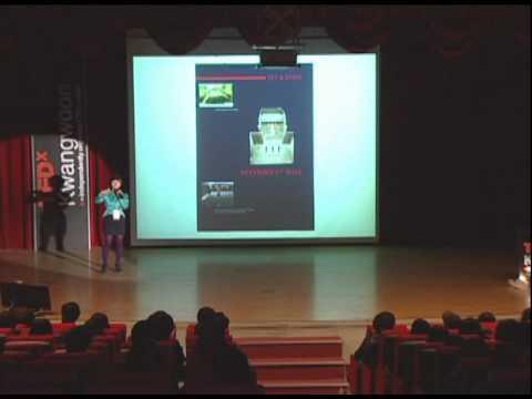 TEDxKwangwoon - Henna Yoon - Storytelling Laboratory - 03/27/10 - English Subtitle