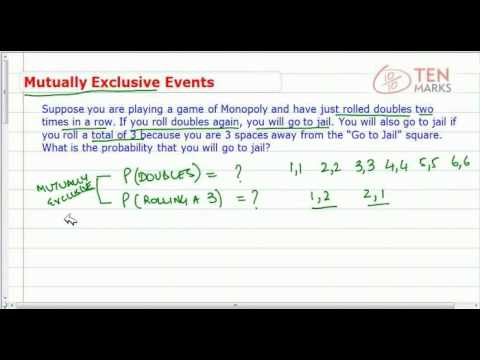Mutually Exclusive Events in Probability
