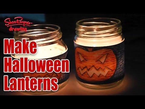 How to make a Great Halloween Lantern