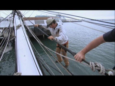 Dirty Jobs - Climbing the Rigging of a Merchant Ship