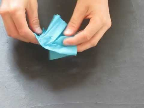 Fold an origami Pleated Hat! By Michael Anton