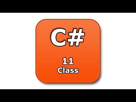 C# Tutorial - 11 - Class