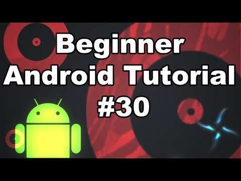 Learn Android Tutorial 1.30-  Canvas Lock, Draw, and Post