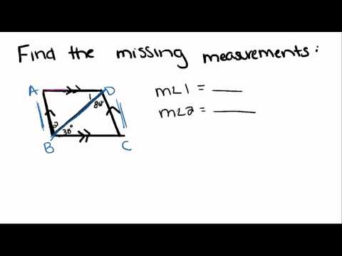 Introduction to Geometry - 27 - Other Angles Formed by Parallel Lines