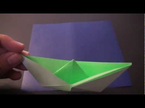 Origami Daily - 068: Sail Boat Version 2 - TCGames HD