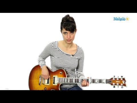 How to Play a D/A Chord on Guitar