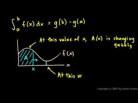 Calculus - The Fundamental Theorem, Part 2