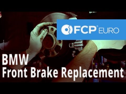 BMW Brake Replacement (325i Front Pads, Discs and Sensors) FCP Euro