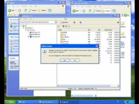 Create a Windows XP Service Pack 3 recovery disc