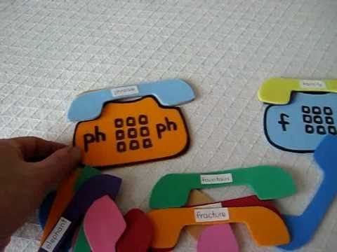 Grade 1 - Reading and Phonics. Learn the ph and f sounds