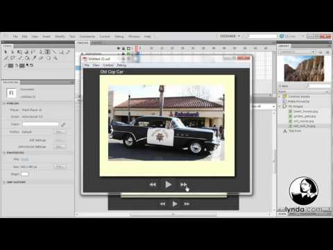 lynda.com Tutorial | Flash Professional CS5: Code Snippets and Templates in Depth—Welcome