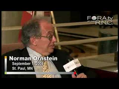 How and Why McCain Chose Palin - Norm Ornstein