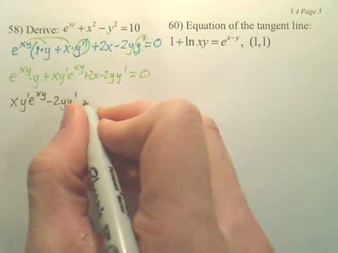 5.4c1 Exponential Differentiation and Integration - Calculus