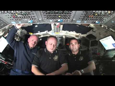 Interviews, Spacewalk Preps Among Flight Day 9 Highlights