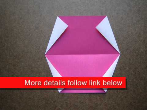 How to Fold Origami Watermelon - OrigamiInstruction.com