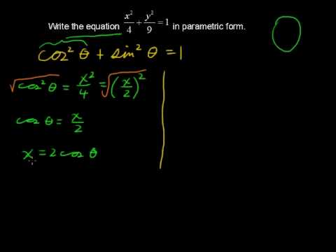 How to Calculate Parametric Equations - Calculus Tips