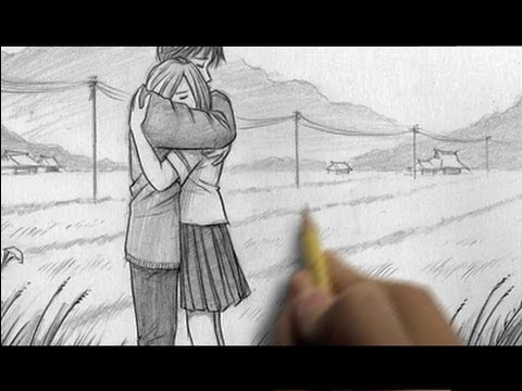 How to Draw People Hugging
