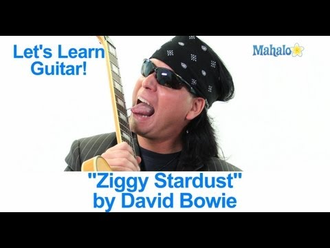 "How to Play ""Ziggy Stardust"" by David Bowie on Guitar"