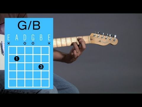 How to Play Guitar: Beginners / Open Chords: G with B in the Bass
