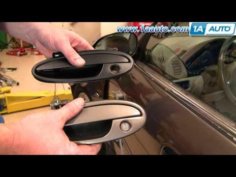 How To Install Repair Replace Broken Exterior Door Handle Olds Intrigue 98-02 1AAuto.com