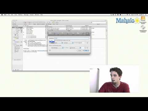 Mail - Rules - Learn Mac OS Snow Leopard