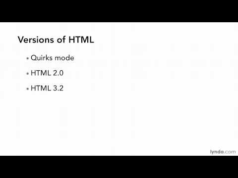 HTML tutorial: What is HTML? | lynda.com