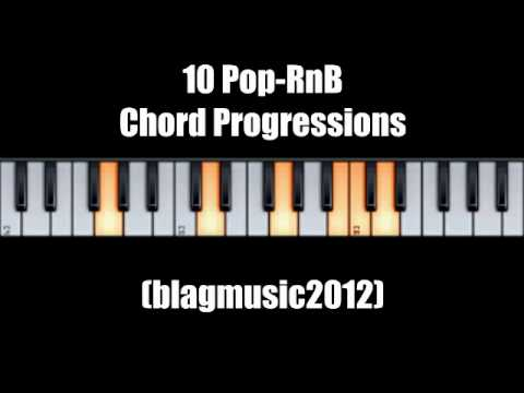 10 Pop RnB Chord Progressions for Vocalists and Songwriters.