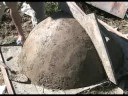 Dome mould for compound parabolic solar cookers!