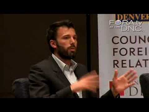 Ben Affleck - Grassroots Change in Africa