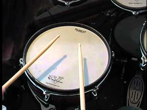 What is a seven stroke roll and how to play it on the drums by Jesse Conlee