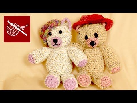 Crochet Geek - Crochet Bear Ogeechee - Amigurumi