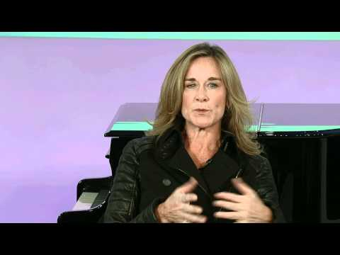 Brand Relevance - Angela Ahrendts & Evan Davis at European Zeitgeist 2011