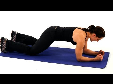 Core-Strengthening and Lower Stomach Exercises | Boot Camp Workout for Women