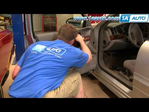 How To Install Remove Front Door Panel Buick Lesabre 00-05 1AAuto.com