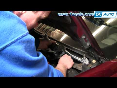 How To Install Replace Broken Windshield Wipers Saturn Ion 03-07 1AAuto.com