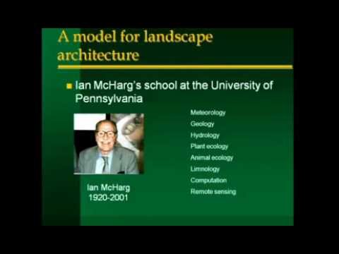 GeoDesign Summit 2010: Michael Goodchild: Spatial By Design (Part 1 of 3)