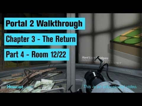 Portal 2 Walkthrough / Chapter 3 - Part 4: Room 12/22