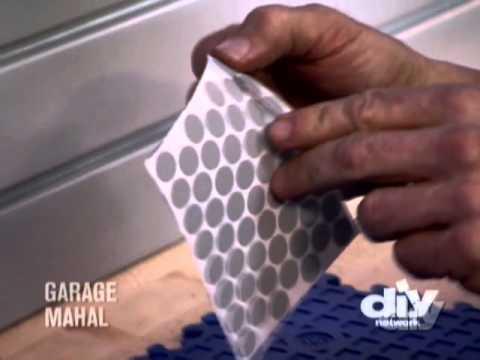 Installing Slat Wall Storage-DIY