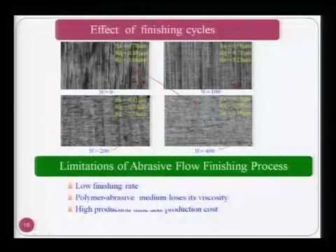 Mod-01 Lec-31 Advanced Machining Processes