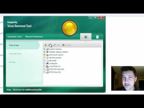 Review Of Kaspersky Free Virus Removal Tool 2011
